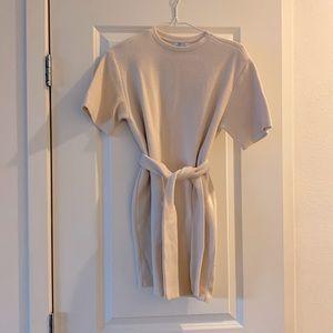 *Free* ❤️ Cream Shirt Dress